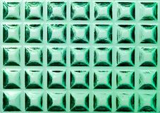 Square ormanent of glass Royalty Free Stock Images