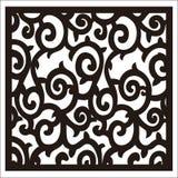 Square ornament royalty free illustration