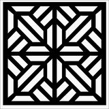 square ornament vector illustration