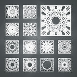 Square Ornament Set Royalty Free Stock Photos