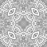 Square ornamental pattern Stock Photography