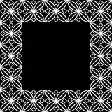Square ornamental square - 2e Royalty Free Stock Photos