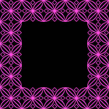 Square ornamental square - 2f Royalty Free Stock Photos