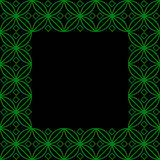 Square ornamental square - 2g Royalty Free Stock Photos