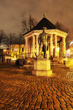 Square in Oslo, Norway royalty free stock photos