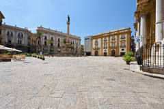 Square in Palermo Royalty Free Stock Image