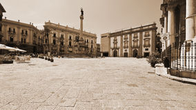 Square in Palermo Royalty Free Stock Images