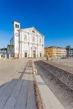 The square of Palmanova, venetian fortress in Friuli Venezia Giu Royalty Free Stock Photo
