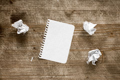Square paper page Royalty Free Stock Photo