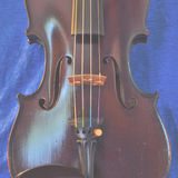 Square pastel violin image Royalty Free Stock Photography