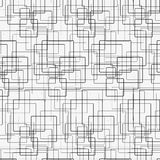 Square pattern. Including seamless sample in swatch panel Stock Photo