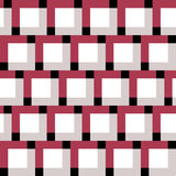 Square pattern. Including seamless sample in swatch panel Stock Images