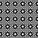 Square pattern. Black and white. Vector illustration. Eps 10 Royalty Free Illustration