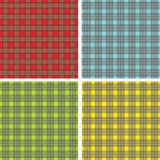 Square pattern. Colored square pattern or textures illustration Stock Image