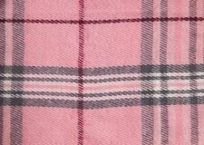 Square pattern fabric background. Textures pink and white cotton fabric. The pattern for textiles. Cell. Shirts plaid. Trendy stock photos