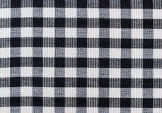 Square pattern fabric Royalty Free Stock Photo