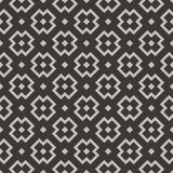 Square pattern. Grey squares shapes on dark background. Seamless pattern Royalty Free Stock Photo