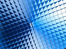 Square pattern lignthing effect background Royalty Free Stock Photos