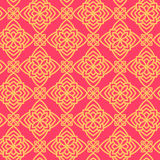 Square Pattern panel for laser cutting with mandalas. Stock Image