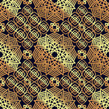 Square Pattern panel for laser cutting with mandalas. Stock Images