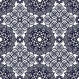 Square Pattern panel for laser cutting with mandalas. Royalty Free Stock Photos