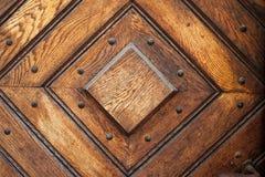 Square Pattern Vintage Door Background stock image