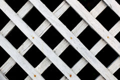 The white wood fence Stock Photos