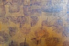 Square pattern wood pieces background royalty free stock photo
