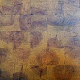 Square pattern wood pieces background stock photos
