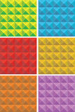 Square patterns Stock Photography
