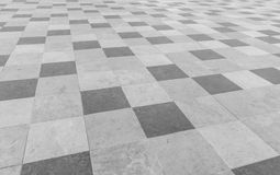 Square pavement tiles Stock Photography