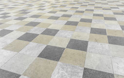 Square pavement tiles Stock Images