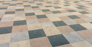 Square pavement tiles Stock Image