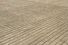 Square paving Stock Images