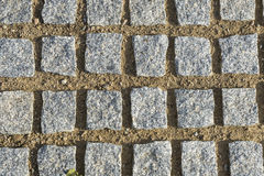 Square paving stones Royalty Free Stock Photography