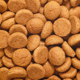 Square of pepernoten, ginger nuts Sinterklaas Royalty Free Stock Photos