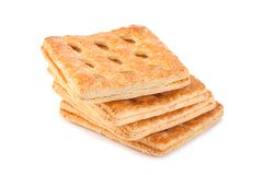 Square perforated cookie Stock Images