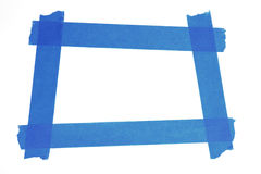 Square photo frame Stock Image