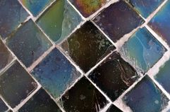 Square pieces of glass Royalty Free Stock Photo