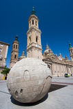 Square of the Pilar Royalty Free Stock Image