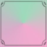 Square pink green pastel backgroun Stock Images