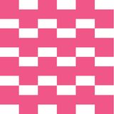 Square pink pattern Stock Photography