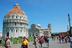 Square of Pisa Stock Image