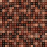 Square Pixel Brown Mosaic Background Royalty Free Stock Photography