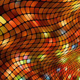 Square pixel mosaic background. EPS 8 Royalty Free Stock Photo
