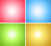 Square pixels backgrounds Royalty Free Stock Photos