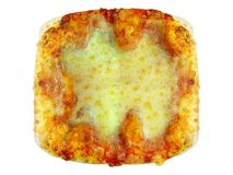 Square Pizza Royalty Free Stock Photos