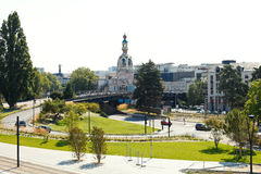 Square Place de la Duchesse Anne in Nantes, France Stock Photography