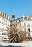 Square Place du Bouffay στη Νάντη, Γαλλία Στοκ Φωτογραφίες