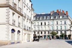 Square Place du Bouffay in Nantes, Frankreich Stockfotografie